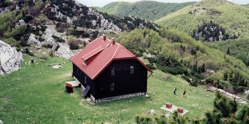 Wandern in Kroatien Berghütte Kvarner