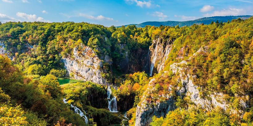 Wandern in Kroatien Gipfel Plitvice Geheime Wege