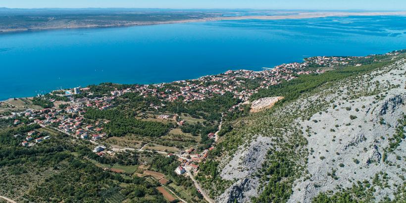 Wandern in Kroatien Meerblick