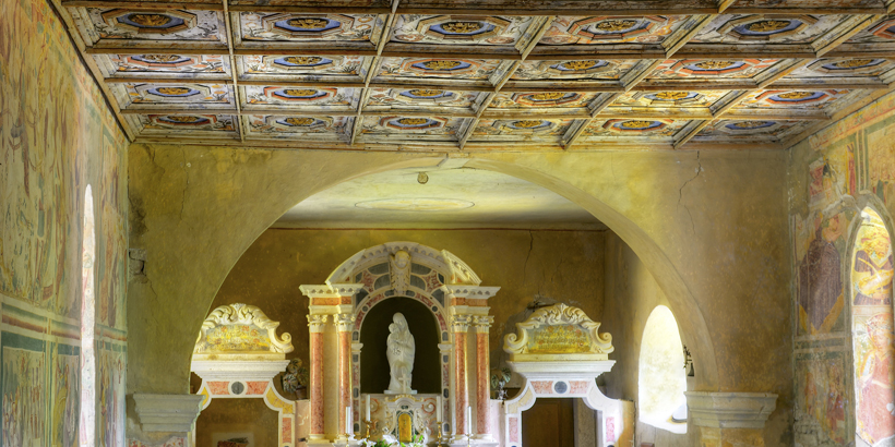 Beram nahe Pazin Istrien Kirche Innen