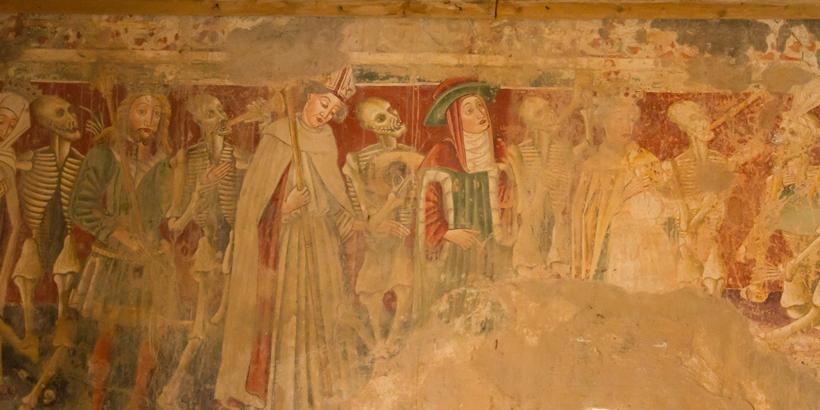 Beram nahe Pazin Istrien Kirche Malerei