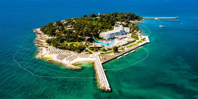 Klein, aber fein Istriens schönste Inseln Sveti Nikola Porec