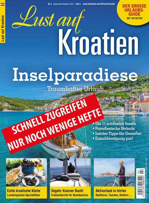 Lust auf Kroatien 02/18 Inselparadiese