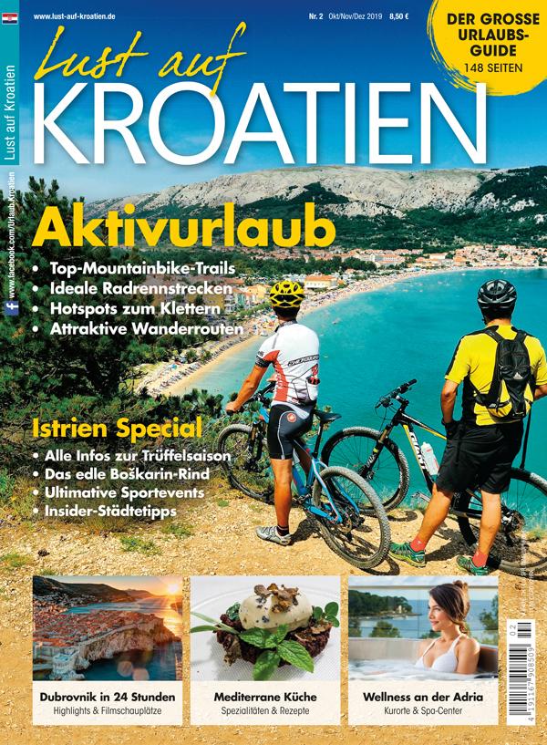 Lust auf Kroatien 02/2019 Aktivurlaub