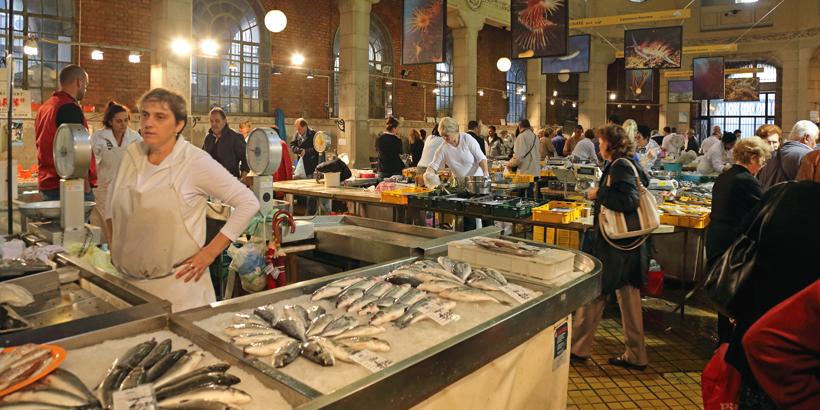 Rijeka für Fischliebhaber Markthalle
