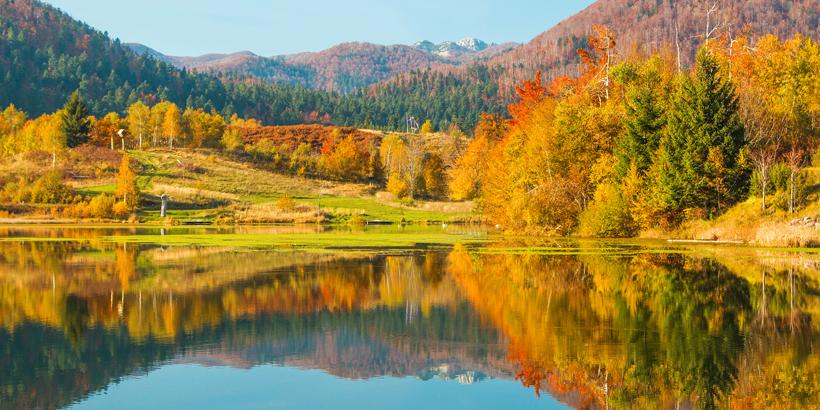 Waldbaden in der Kvarner-Region