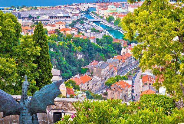 Wandern rund um Rijeka am Meer und in die Berge