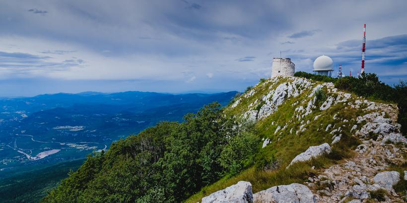 Wandern rund um Rijeka am Meer und in die Berge Gipfel 2