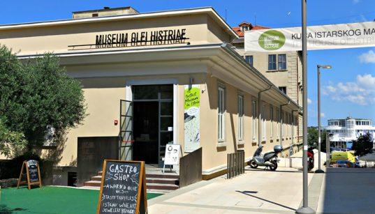 Haus des istrischen Olivenöls in Pula