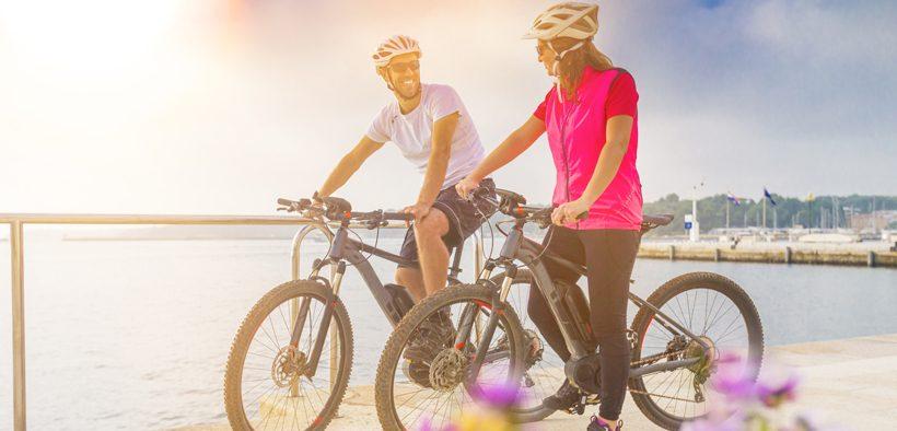 Radfahren in Poreč - Istrien auf zwei Rädern erkunden