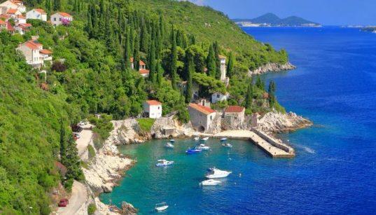 Adria Meeresküste Boote Trsteno