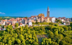 Buje Kleinstadt in Istrien