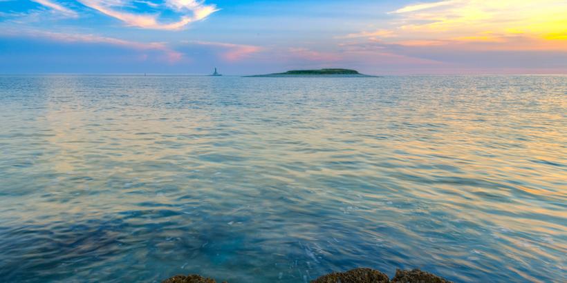 Leuchtturminsel Porer Meerblick