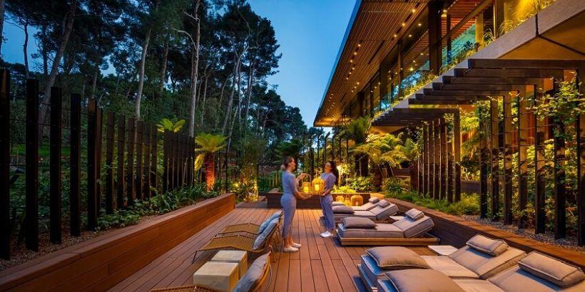 Albero Wellnessbereich Grand Park Hotel