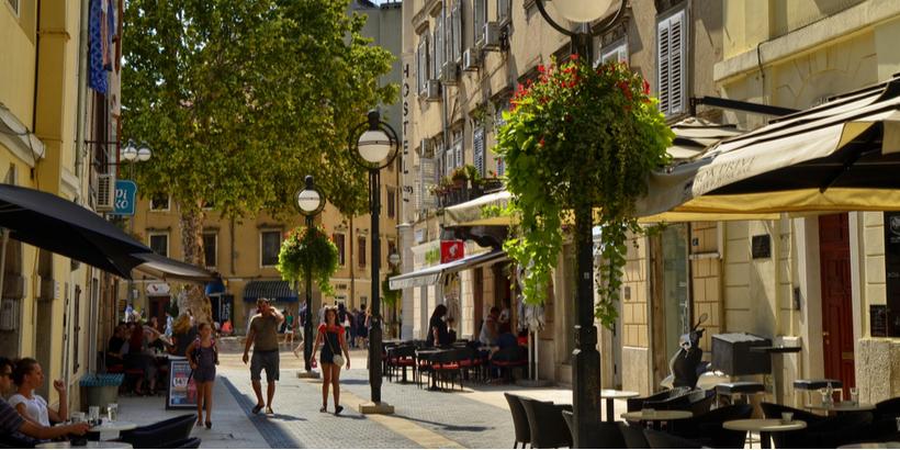 Korzo: Die Promenade von Rijeka
