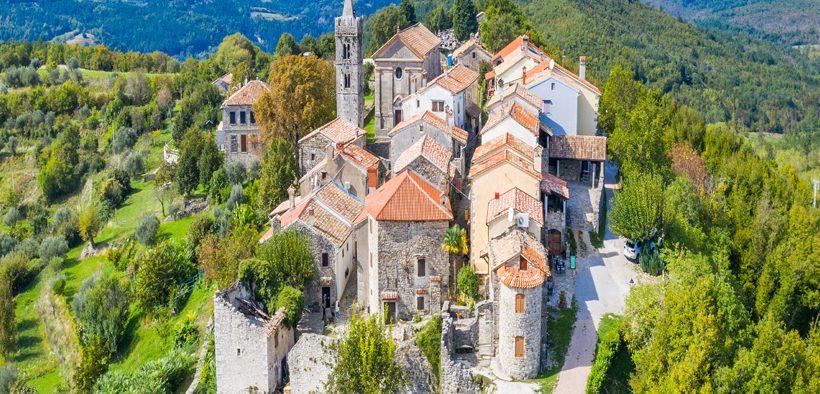 Hum - Kroatien, wundervolle kleine Stadt