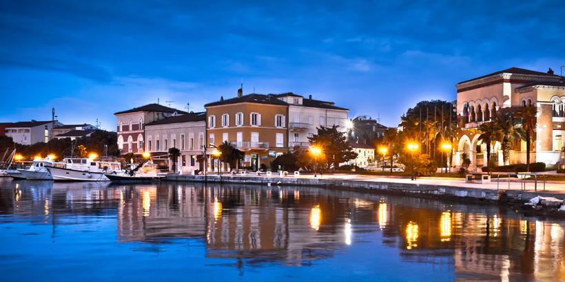 Porec - Kroatien romantischer schöner Hafen