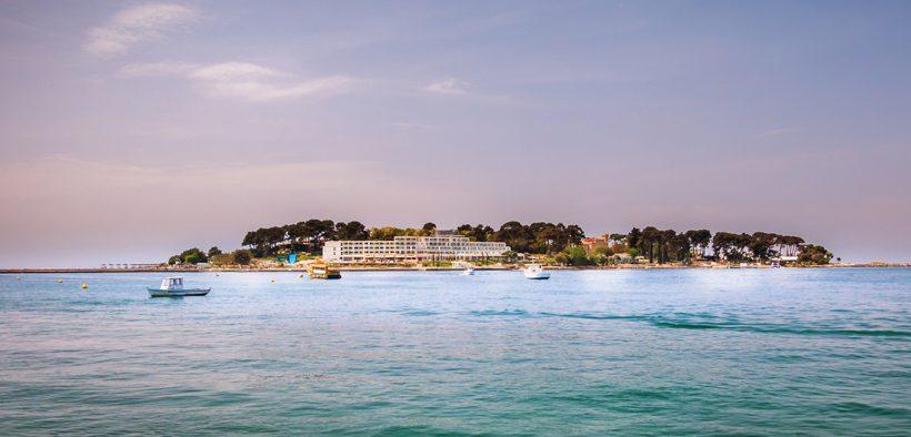 Sveti Nikola-Kroatien, kleine vorgelagerte Insel bei Porec