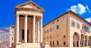 Augustus Tempel Pula