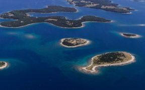 Brijuni Inseln - die kleinsten Eilande - Insel Gaz in Fischform