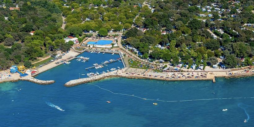 Camping mit eigenem Hafen in Zelena - zwischen Porec und Vrsar