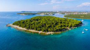 Insel Frašker bei Banjole - Istrien