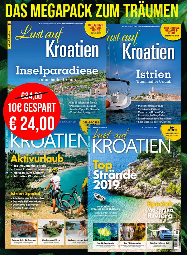 Lust auf Kroatien 4eer Pack