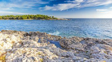 Meerblick und Inselglück der Insel Levan in Istrien