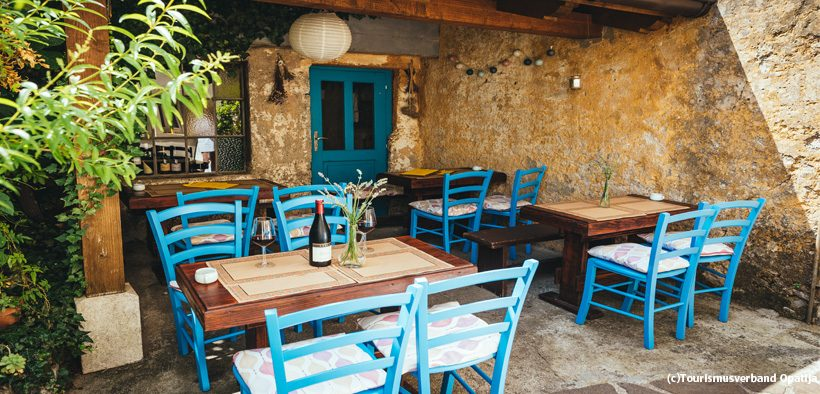 Restaurants in Opatija
