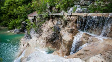 Wassermühle im Mirnatal zwischen Buzet und Hum