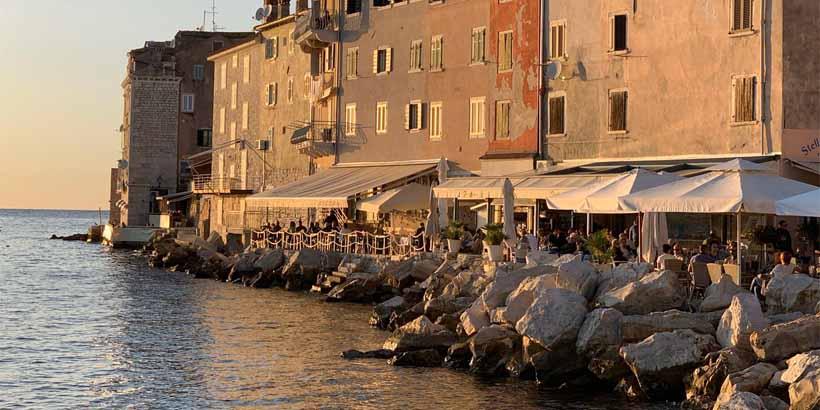 Cafés in Rovinj