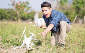 Drohnenabsturz - Infos zur Drohnen Versicherung