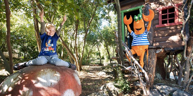 Märchenwald für Kinder auf der Insel Sveti Nikola