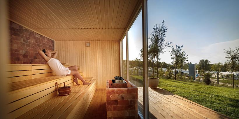 Sauna im Istra Premium Camping Resort