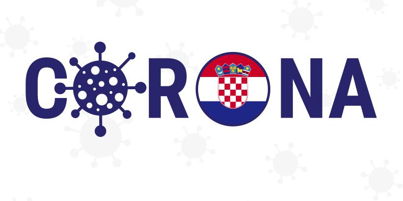 Corona Kroatien Wappen