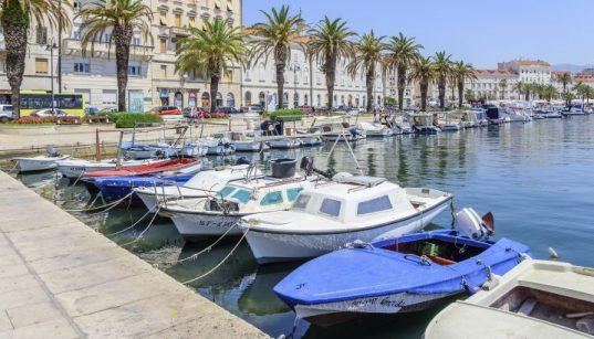 Boot anlegen in kroatien - Boote in Split - Nautik der Adria
