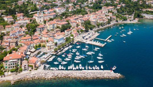 Der Hafen Opatija ist einer von den Marinas der Kvarner Bucht