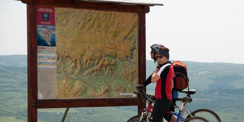 Mountainbiken an der Riviera Medulin