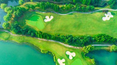 Golfplatz Beschreibung - Elemente einer Golfanlage