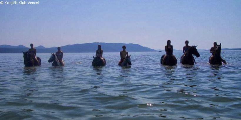 Ausflug ins Meer mit dem Reiterhof Vencel