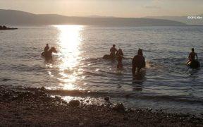 OPG Kim - mit Pferden im Meer schwimmen