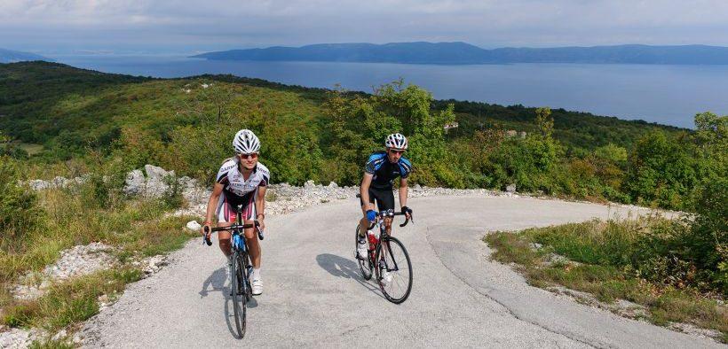 Radtour entlang der istrischen Küste von Rabac-Labin - Bike Center Rabac on tour