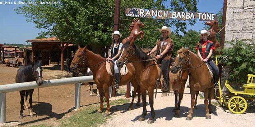 Ranch Barba Tone in Istrien