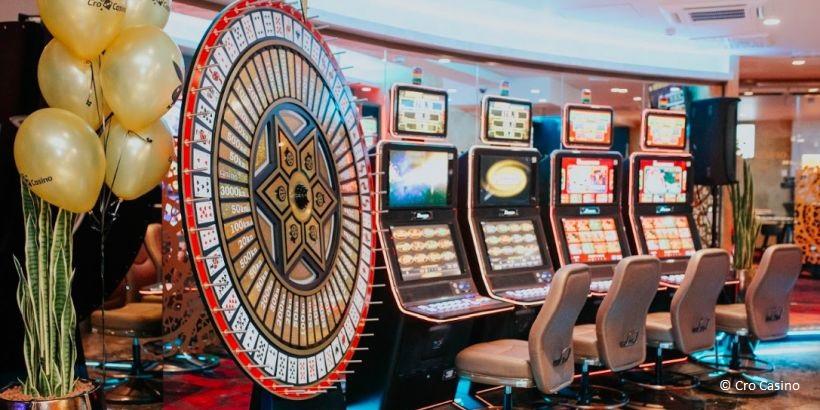Spielhalle des Cro Casino in Zagreb