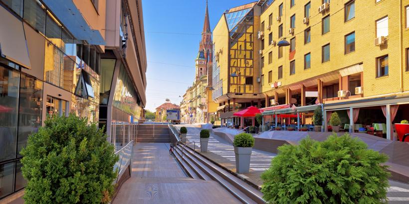 Einkaufen in Osijek