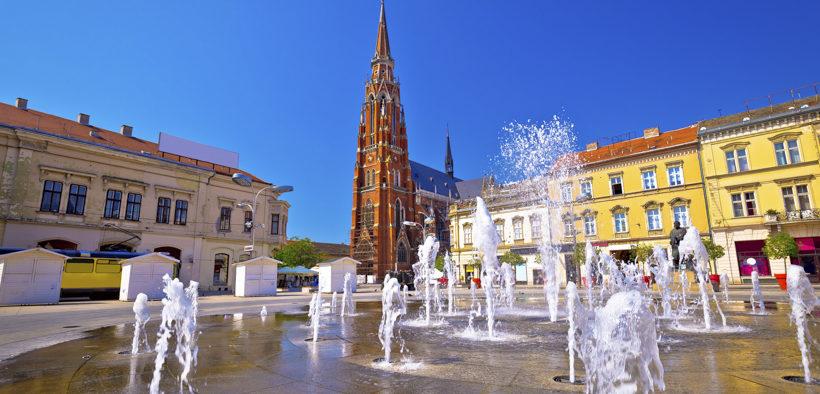 Kathedrale St. Peter und Paul in Osijek