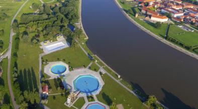 Schwimmen in Osijek