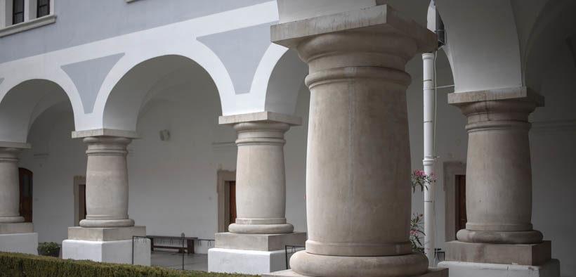 Das Kloster der Heiligen Dreifaltigkeit in Slavonski Brod