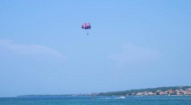 Skydiving in Zadar
