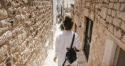 Spaziergang durch Split
